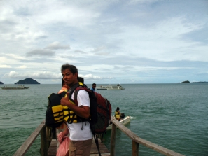 Arriving in El Nido