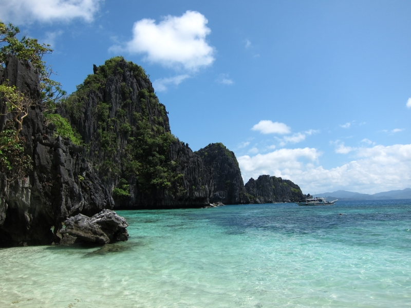 The view from the Big Lagoon beach.