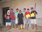 The dedicated Engineering team after it was all over. (Resort Engineer Mervin Velasco on the right-most)