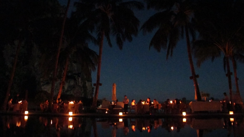 Earth Hour at Lagen Island Resort