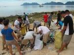 Segregating trash