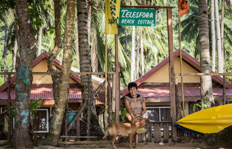 Employees like Chat Jaboli saved their salaries from El Nido Resorts and have since opened their own businesses in El Nido town.