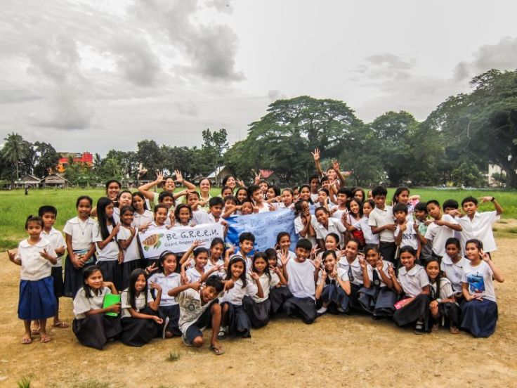 ENR's Environmental Officers brought the Be GREEN program to El Nido's schools, interacting with over 200 elementary and high school students.