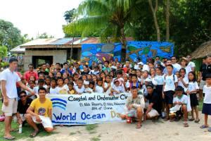 The eager participants of Sitio Kiminawit, Brgy. Bebeladan, El Nido, Palawan