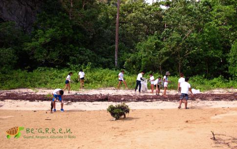 Coastal Cleanup at Cove 3