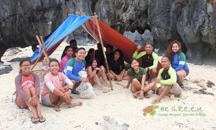 Outdoor survival cast-away style with Kuya Weng adn Kuya Reylan